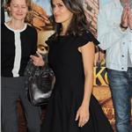 Salma Hayek at photo call for Puss in Boots  in Poland 95144