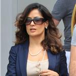 Salma Hayek arrives in Venice, Italy 86543