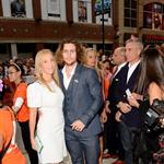 Sam Taylor-Wood and actor Aaron Taylor-Johnson attend the Anna Karenina premiere during TIFF 125788