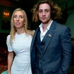 Sam Taylor-Wood and actor Aaron Taylor-Johnson attend the Anna Karenina premiere during TIFF 125795