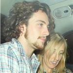 Sam Taylor-Wood and Aaron Johnson leaving Claridges Hotel 91791