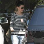 Sandra Bullock picks up Louis from school  109606