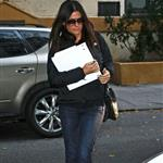 Sandra Bullock heads home after a meeting November 2010  73555