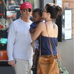 Sandra Bullock antique shopping with her son Louis  112882