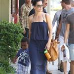 Sandra Bullock antique shopping with her son Louis  112887