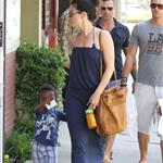 Sandra Bullock antique shopping with her son Louis  112891