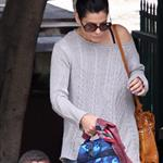 Sandra Bullock picks up Louis from school 111798