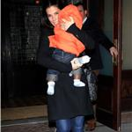 Sandra Bullock in New York with baby Louis 72244
