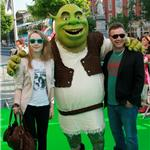 Saoirse Ronan at Irish Shrek premiere  63984