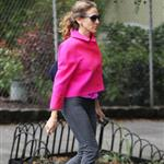 Sarah Jessica Parker walking in New York 94753