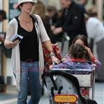 Sarah McLachlan in Vancouver on Friday leaving for the 2009 Emmy Awards 47324