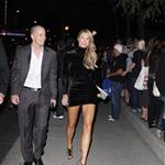 Stacy Keibler walks to Ides of March premiere at TIFF
