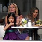 Sarah Jessica Parke, Kim Cattrall Kristin Davis, and Cynthia Nixon shoot Sex & the City 2 in New York 46829