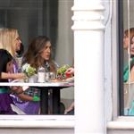 Sarah Jessica Parke, Kim Cattrall Kristin Davis, and Cynthia Nixon shoot Sex & the City 2 in New York 46830