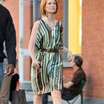 Sarah Jessica Parke, Kim Cattrall Kristin Davis, and Cynthia Nixon shoot Sex & the City 2 in New York 46832