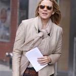 Kim Cattrall on the Sex & the City 2 set 48534