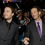 Taylor Kitsch and Peter Berg attend the Battleship Press Conference in Seoul, South Korea 110681