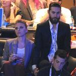Scarlett Johansson and Jared Leto together at the DNC 125492