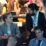 Scarlett Johansson and Jared Leto together at the DNC 125500