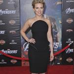 Scarlett Johansson at the LA premiere of The Avengers  111159