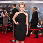 Scarlett Johansson at the LA premiere of The Avengers  111162