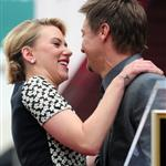 Scarlett Johansson is honored on the Hollywood Walk of Fame with Jeremy Renner 113197