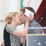 Scarlett Johansson is honored on the Hollywood Walk of Fame with Jeremy Renner 113198