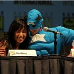 Michael Cera and Ellen Wong at Comic-Con for Scott Pilgrim  65998