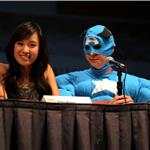 Michael Cera and Ellen Wong at Comic-Con for Scott Pilgrim  66002