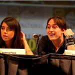 Keiran Culkin and Aubrey Plaza at Comic-Con for Scott Pilgrim  66009