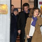 Sean Penn has romantic dinner with Valeria Golino in Rome 79545