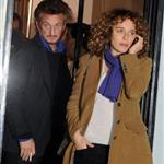 Sean Penn has romantic dinner with Valeria Golino in Rome 79546