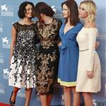 Vanessa Hudgens, Selena Gomez, Rachel Korine, and Ashley Benson at The 69th Venice Film Festival for the Spring Breakers Photocall  125168
