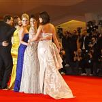 Vanessa Hudgens, Selena Gomez, Rachel Korine, and Ashley Benson at The 69th Venice Film Festival for the Spring Breakers premiere 125188