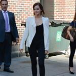 Emma Watson at The Late Show with David Letterman 125211