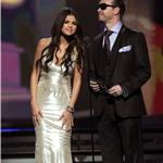 Selena Gomez presents at Grammy Awards with Donnie Wahlberg  79289