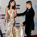 Selena Gomez and Justin Bieber at the 2011 American Music Awards 98907