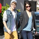 Justin Bieber takes Selena Gomez for breakfast at Ihop restaurant 98911