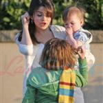 Selena Gomez on the set of Ramona and Beezus 39194