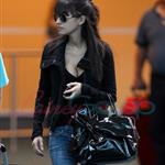 Christian Serratos arrives in Vancouver to shoot Eclipse  45492