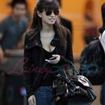 Christian Serratos arrives in Vancouver to shoot Eclipse  45494
