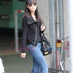 Christian Serratos arrives in Vancouver to shoot Eclipse  45495