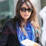 Christian Serratos arrives in Vancouver to shoot New Moon 36239