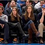 Seth Meyers and Jason Sudeikis double date at Knicks game? 75699