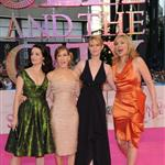 Sarah Jessica Parker Kim Cattrall Cynthia Nixon Kristin Davis at Sex and the City Berlin premiere 20562