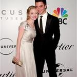 Amanda Seyfried and Dominic Cooper at the Globes 30793