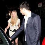 Amanda Seyfried and Dominic Cooper leaving Chateau Marmont 35900