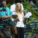 Amanda Seyfried in New York shooting Letters to Juliet 45097