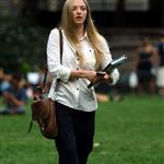 Amanda Seyfried in New York shooting Letters to Juliet 45098