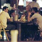 Shakira and Gerard Pique at dinner in Barcelona 93159